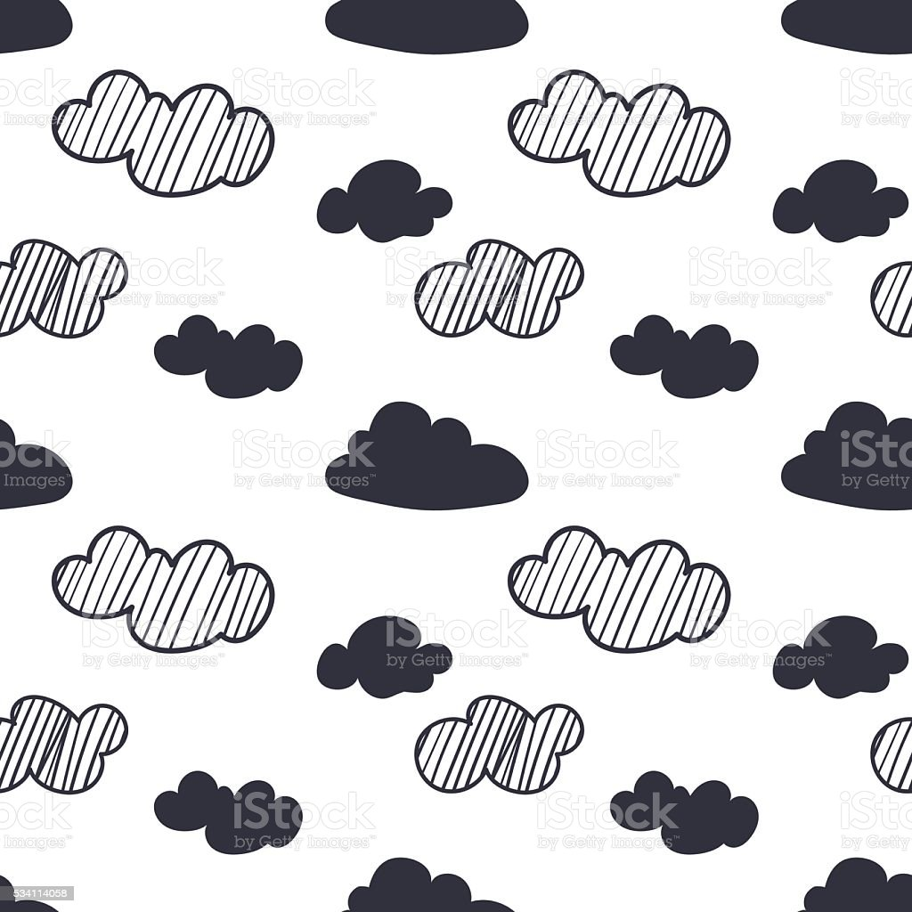 Seamless vector  pattern vector art illustration