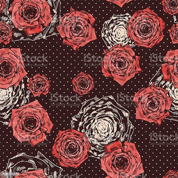 Seamless vector pattern with beautiful roses vector id538724023?b=1&k=6&m=538724023&s=612x612&h=m06jfauognhopny3bto3sqhsyrd6tgdny82vragbozw=