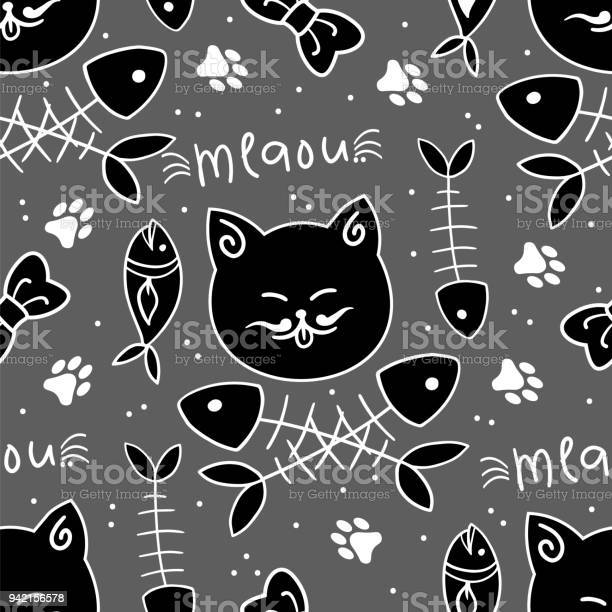 Seamless vector pattern with cute cats vector id942156578?b=1&k=6&m=942156578&s=612x612&h=dwlkyvna15 yhvk9wpirm3y2wrmobitxg tffilxk7o=