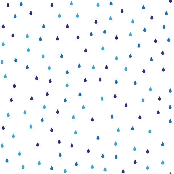Seamless vector pattern with rain drops. Seamless vector pattern with rain drops. raindrop stock illustrations
