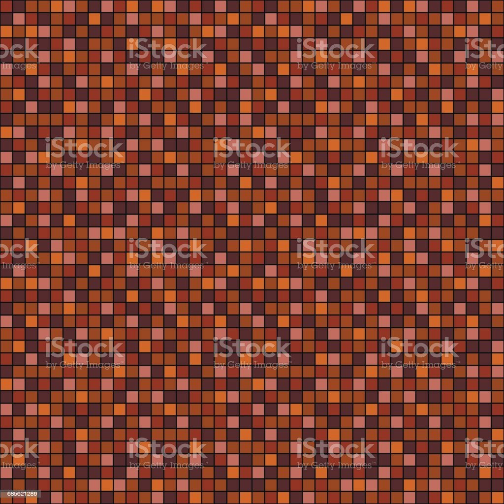 Seamless vector pattern with squares. Simple checkered graphic design. drawn background with little decorative elements. Print for wrapping, web backgrounds, fabric, decor, surface seamless vector pattern with squares simple checkered graphic design drawn background with little decorative elements print for wrapping web backgrounds fabric decor surface - arte vetorial de stock e mais imagens de abstrato royalty-free