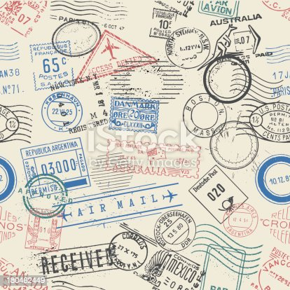 istock seamless vector postage stamps wallpaper 180462449