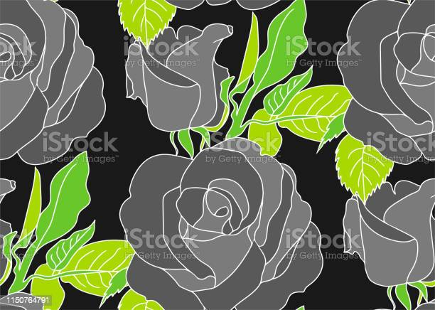 Seamless vector roses pattern floral background for fabric textile vector id1150764791?b=1&k=6&m=1150764791&s=612x612&h=ydof65rg0a70o4oolo5nnlbnxxf8yodjydnnugyxl0g=