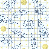 seamless vector space  pattern