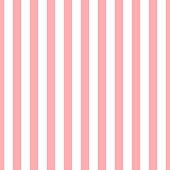 Seamless vector vertical stripe pattern pink and white. Design for wallpaper, fabric, textile. Simple background