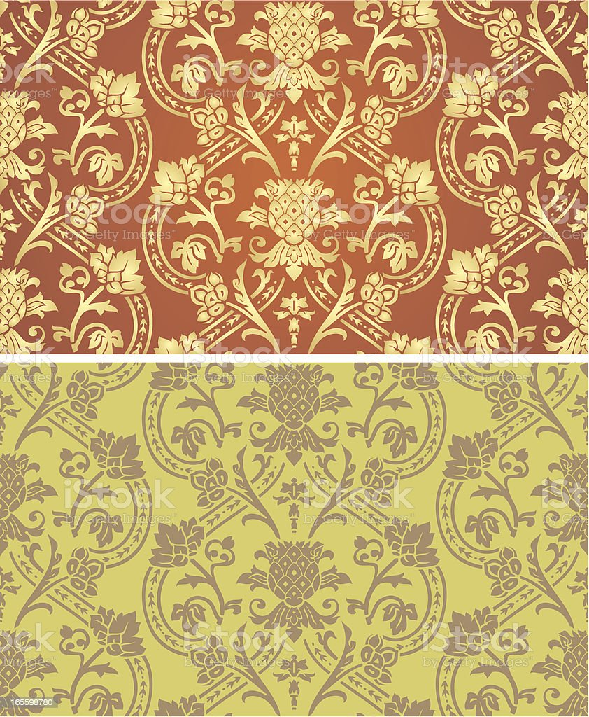 Seamless Victorian royalty-free stock vector art