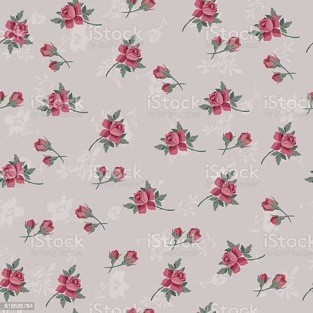 Seamless vintage flower pattern for gift wrap and fabric design vector id618535764?b=1&k=6&m=618535764&s=612x612&h=de5dmqjqggbjyndmvzzycgppd77fbghs1rk4ajzqbm8=