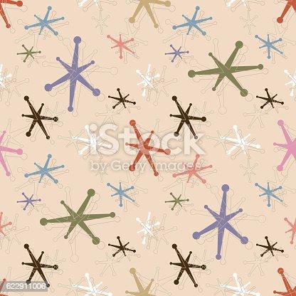 istock Seamless Vintage Jacks Pattern Background 622911006