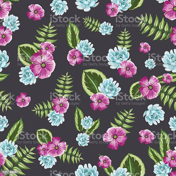 Seamless vintage pattern with painted flower leaves and plants vector id535198861?b=1&k=6&m=535198861&s=612x612&h=1dvsahxnb1nxhm2xn5lco jxqmbv3o0lyy6u0kdwga4=