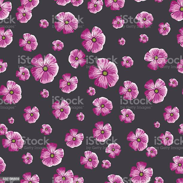 Seamless vintage pattern with painted flower on navy background vector id535198859?b=1&k=6&m=535198859&s=612x612&h=wlalspzsgopiisi8o43gwguwziify2hbs qi3 ldlya=