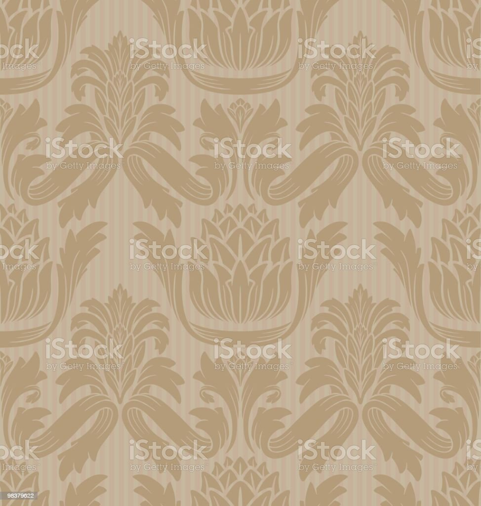 Seamless Vintage Wallpaper royalty-free seamless vintage wallpaper stock vector art & more images of antique