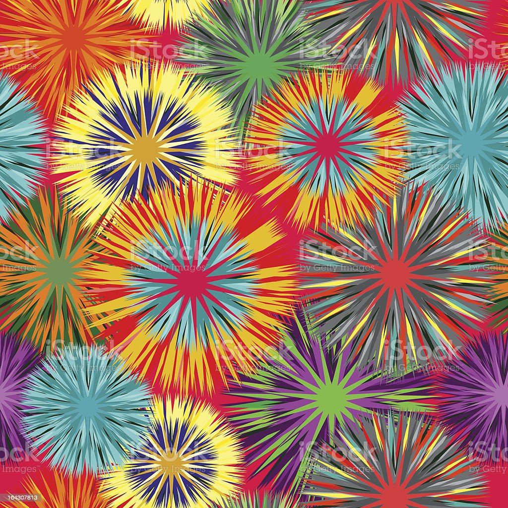 Seamless vivid pattern royalty-free stock vector art