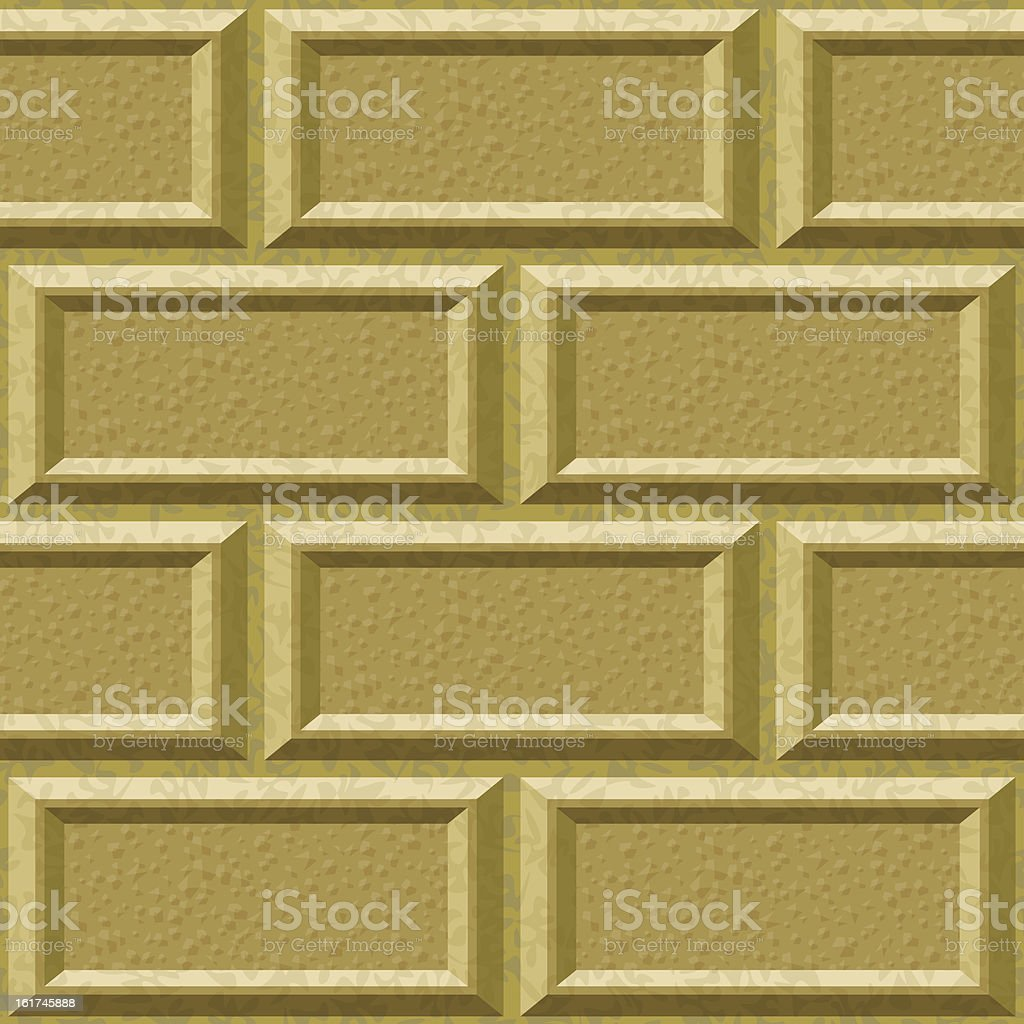 seamless wall with rusticated blocks royalty-free stock vector art