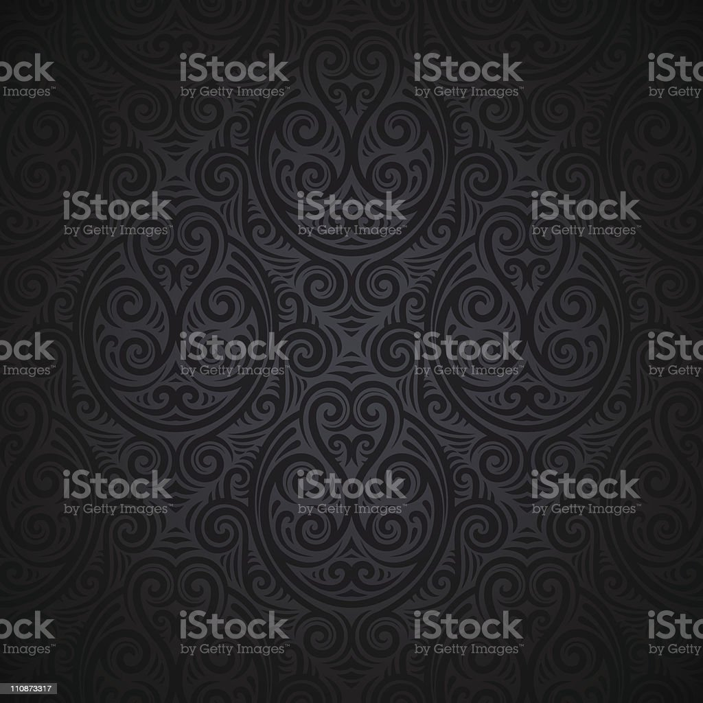 Seamless wallpaper background royalty-free seamless wallpaper background stock vector art & more images of backgrounds
