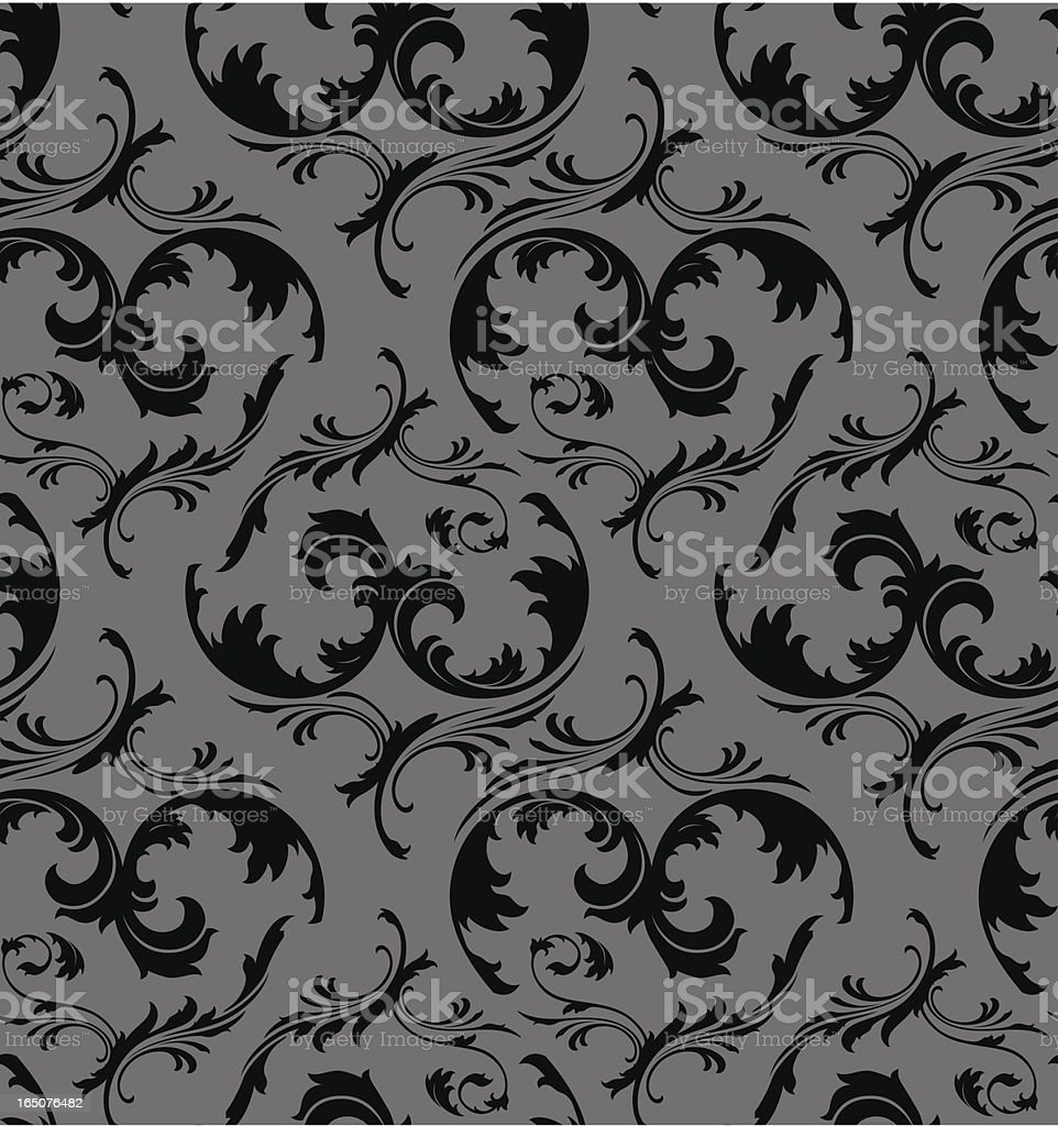Seamless wallpaper background royalty-free seamless wallpaper background stock vector art & more images of antique