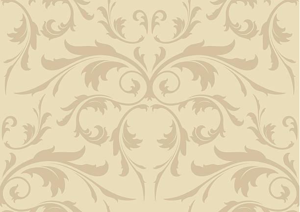 シームレスな壁紙を背景 - ロココ調点のイラスト素材/クリップアート素材/マンガ素材/アイコン素材