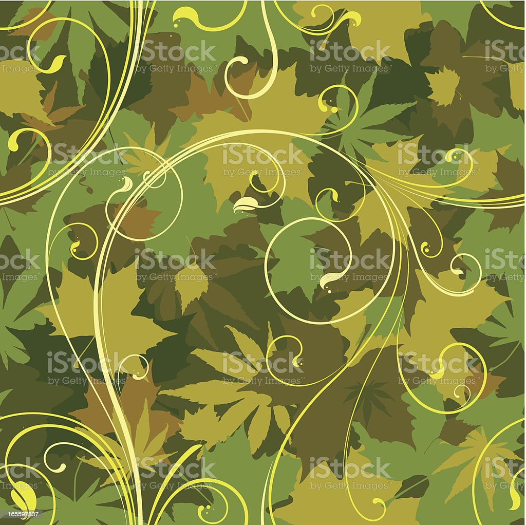 Seamless wallpaper background royalty-free seamless wallpaper background stock vector art & more images of autumn