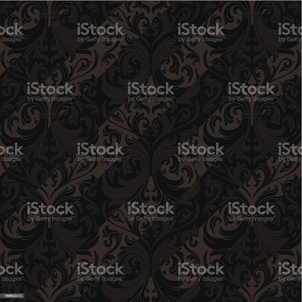Seamless wallpaper background royalty-free seamless wallpaper background stock vector art & more images of arts culture and entertainment