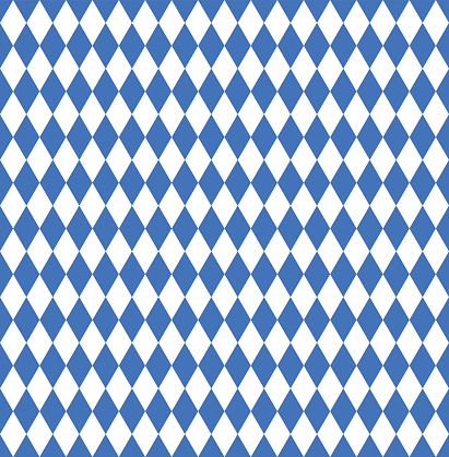 Seamless wallpaper. Bavarian Oktoberfest flag