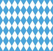 Seamless wallpaper. Bavarian Oktoberfest flag, Vector illustration
