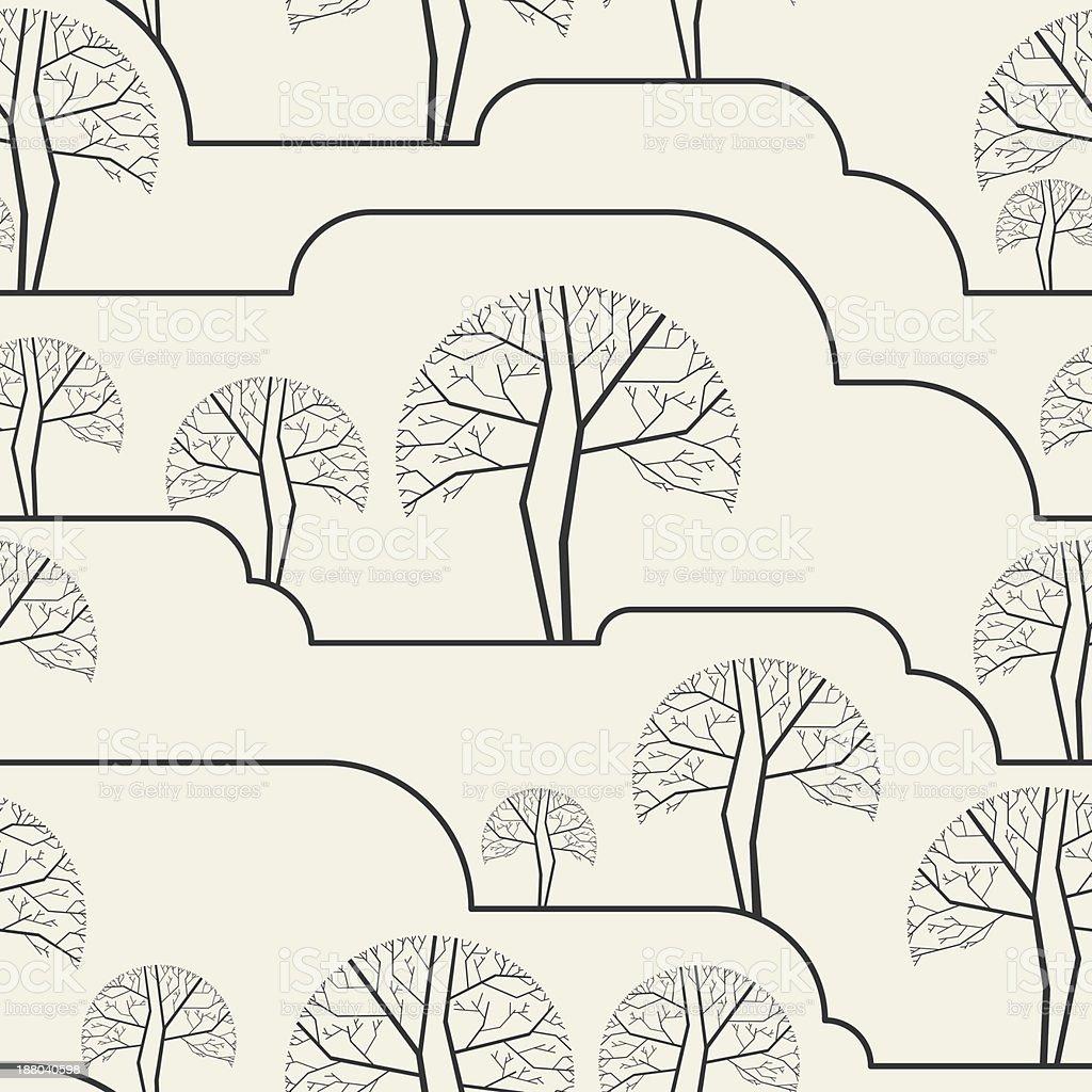 seamless wallpaper pattern royalty-free seamless wallpaper pattern stock vector art & more images of 1970