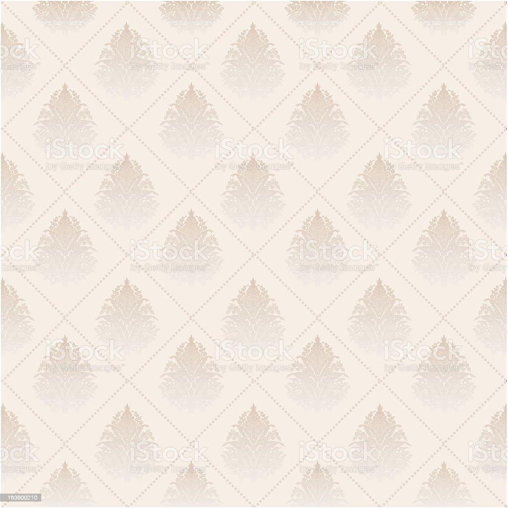 Seamless Wallpaper, Vector Background royalty-free stock vector art