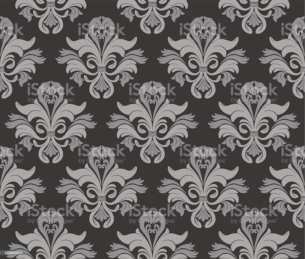 Seamless Wallpaper royalty-free seamless wallpaper stock vector art & more images of antique