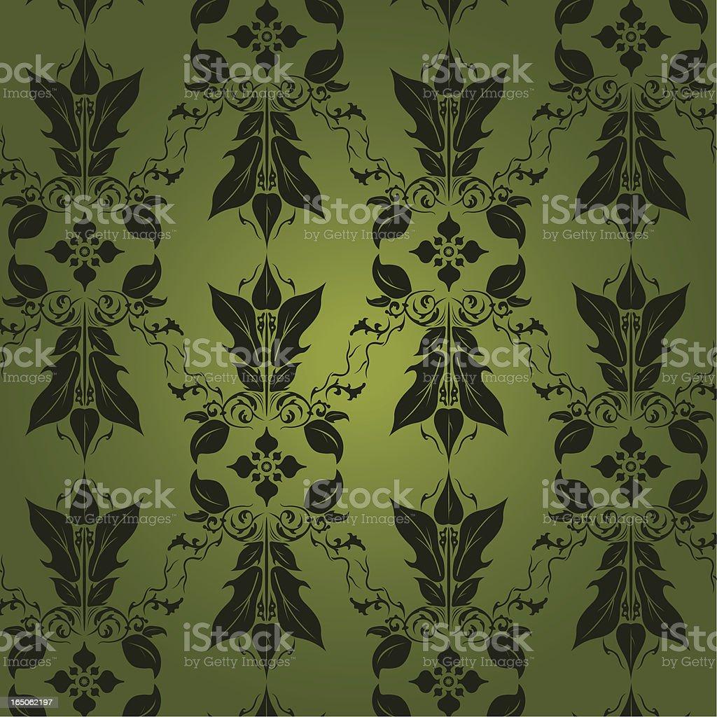 Seamless Wallpaper royalty-free stock vector art