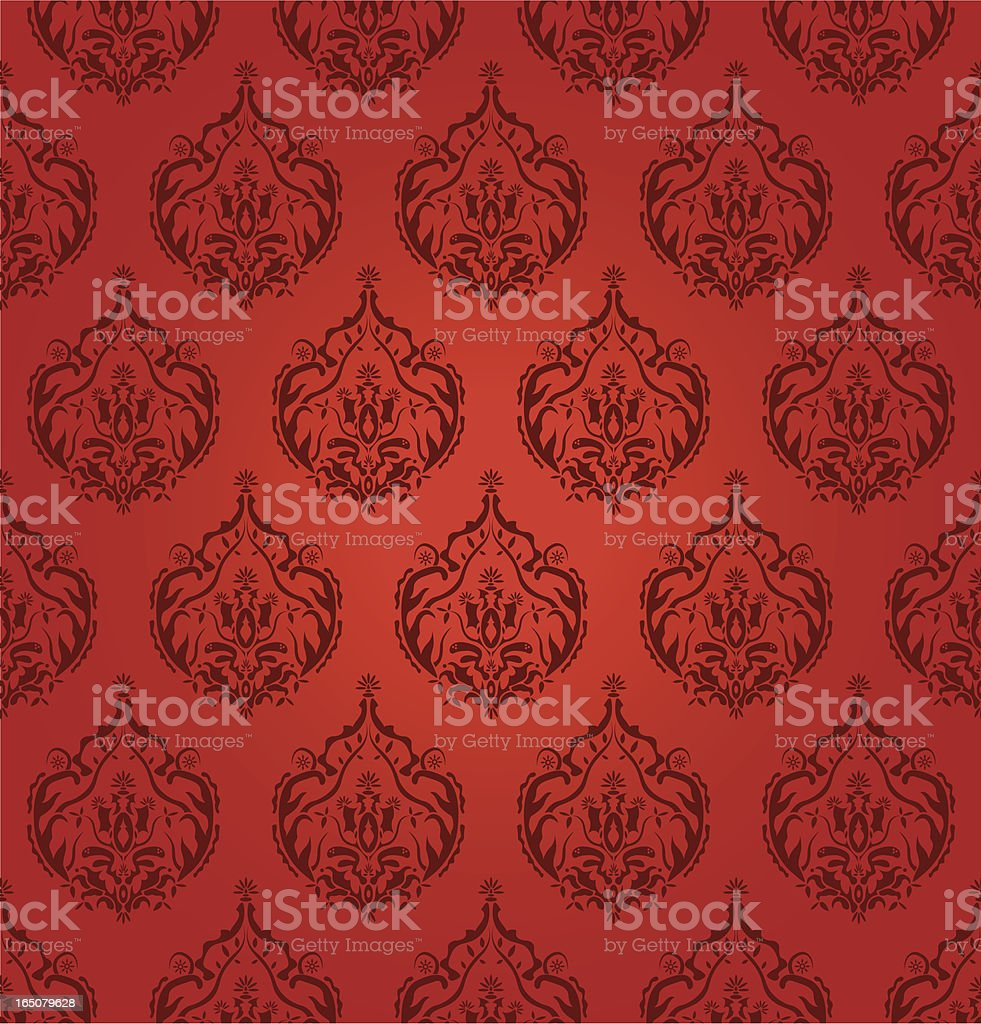 Seamless Wallpaper royalty-free seamless wallpaper stock vector art & more images of 1950
