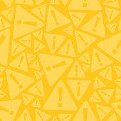 istock Seamless Warning Sign Background 857449342