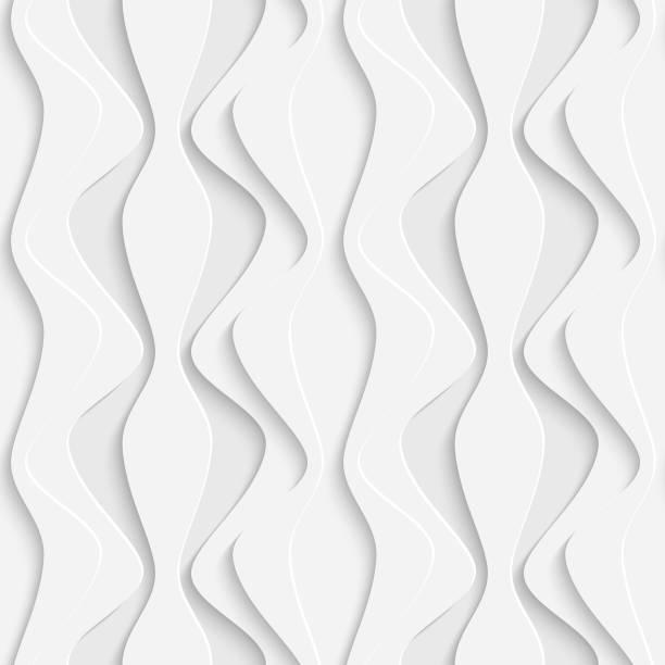 Nahtloser Wave-Hintergrund – Vektorgrafik