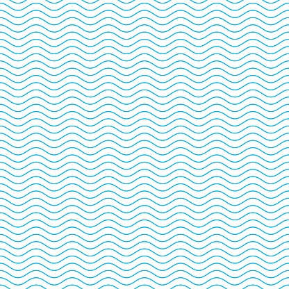 Seamless wave pattern. clipart