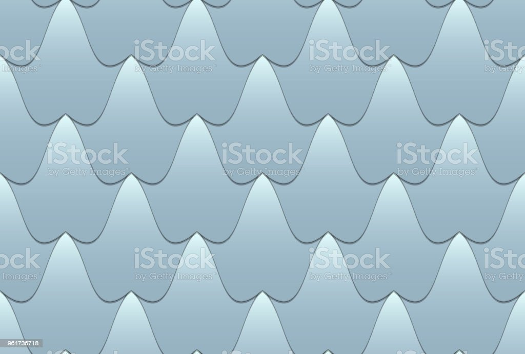 Seamless wavy tiled pattern royalty-free seamless wavy tiled pattern stock vector art & more images of abstract