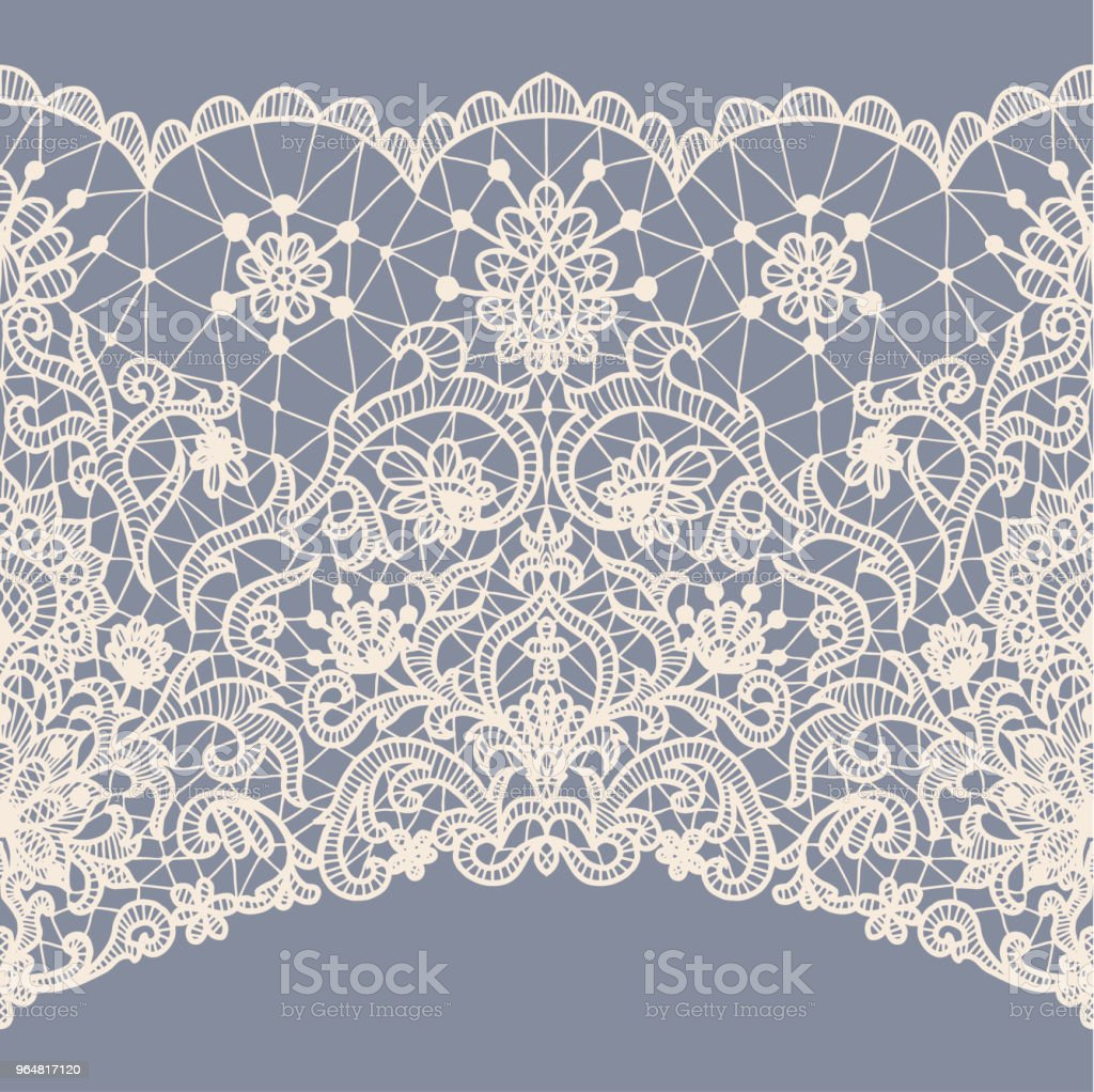Seamless white lace royalty-free seamless white lace stock vector art & more images of abstract