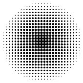 Seamless White Paper with Black Dots
