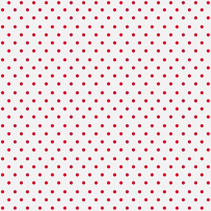 Seamless White Paper with Pink Dots
