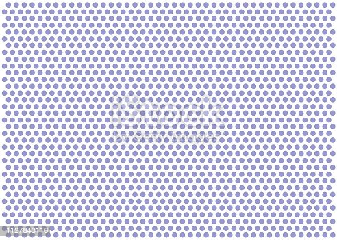 Seamless White Paper with Purple Dots