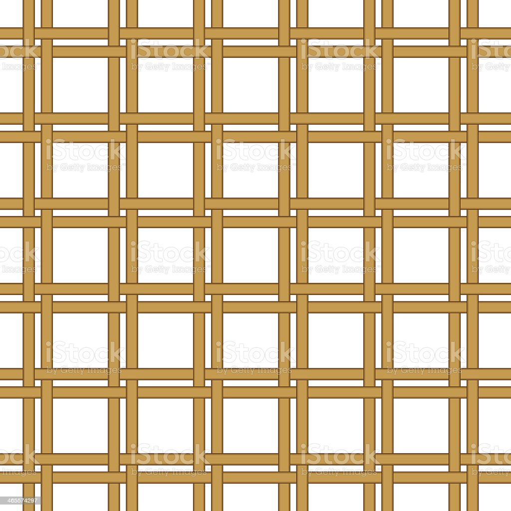 seamless wicker woven texture background royalty-free stock vector art