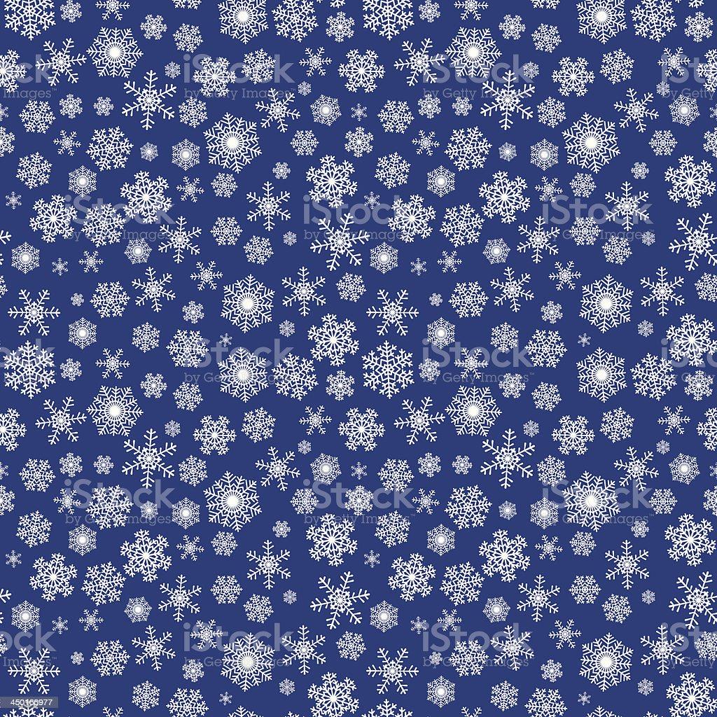 Seamless winter Christmas pattern vector art illustration