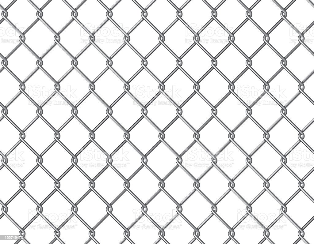 Seamless Wire Mesh Background Stock Vector Art & More Images of ...