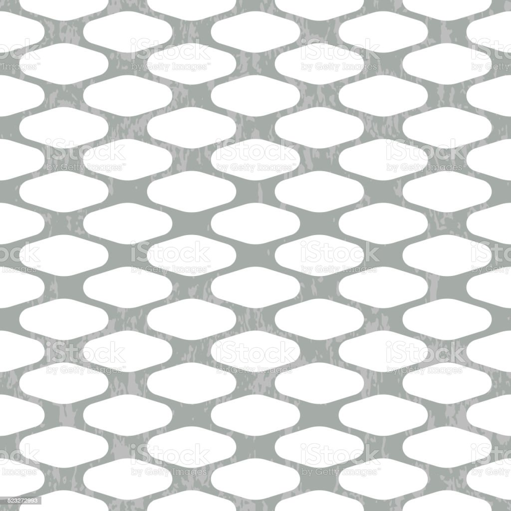 Seamless Wire Mesh Vector Stock Vector Art & More Images of Abstract ...