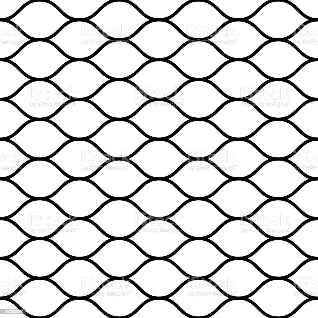 Nahtlose Drahtgebundene Netze Zaun Einfache Schwarze ...