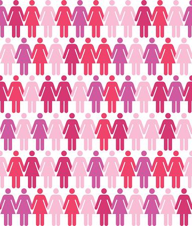 Seamless Women Pattern