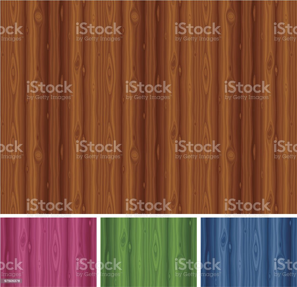 Seamless Wood Texture / Pattern royalty-free seamless wood texture pattern stock vector art & more images of backgrounds