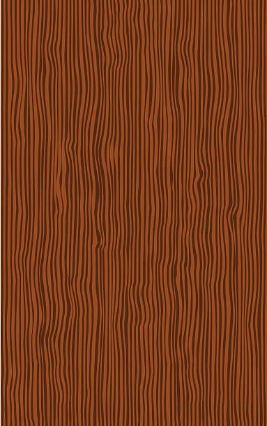 Seamless Wood Texture Vector Art Illustration
