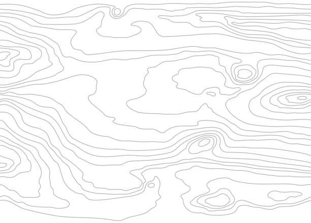 bezszwowy drewniany wzór. tekstura ziarna drewna. gęste linie. jasnoszare tło. ilustracja wektorowa - drewno tworzywo stock illustrations
