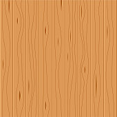Seamless wooden pattern, wood grain texture, vector illustration