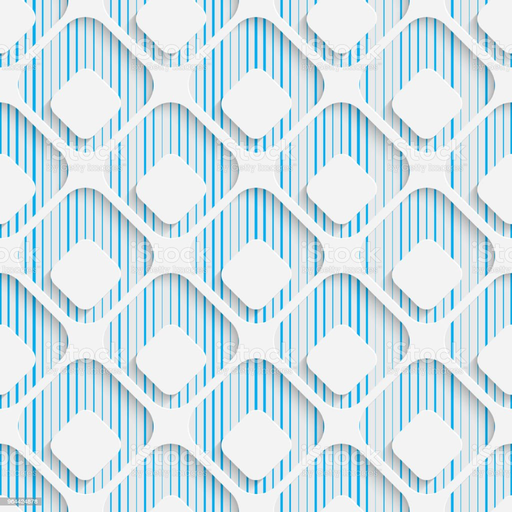 Seamless Wrapping Pattern. Abstract Tracery Background - Royalty-free Abstract stock vector