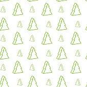 seamless xmas-tree pattern
