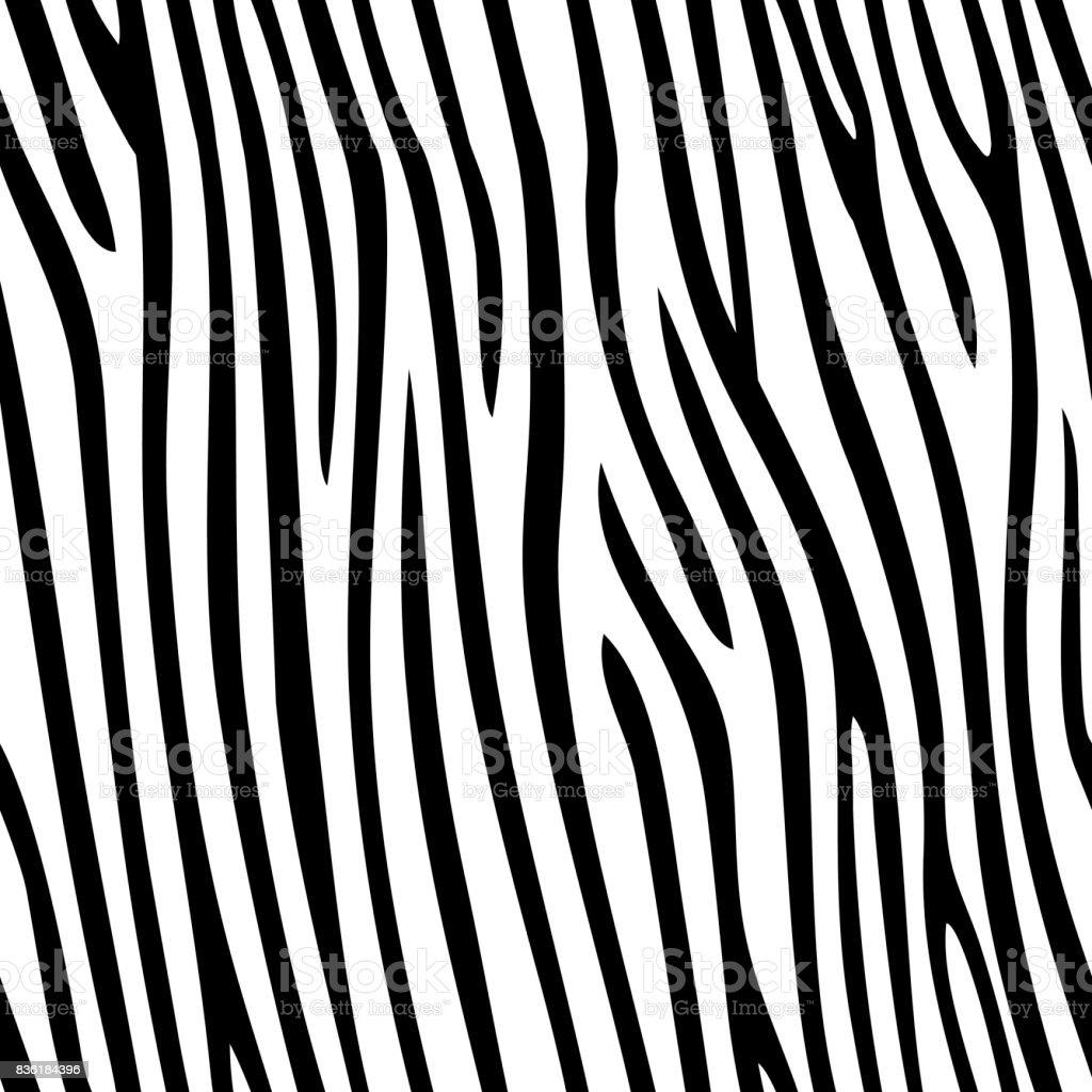 Seamless zebra skin pattern